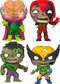 Funko Pop! Marvel Zombies - The Walking Deadpool - Bundle (Set of 4) - The Amazing Collectables
