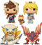 Funko Pop! Monster Hunter Stories - Monster Egg Hunting - Bundle (Set of 4) - The Amazing Collectables