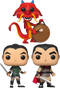 Funko Pop! Mulan - Mushu with Gong #630 - The Amazing Collectables