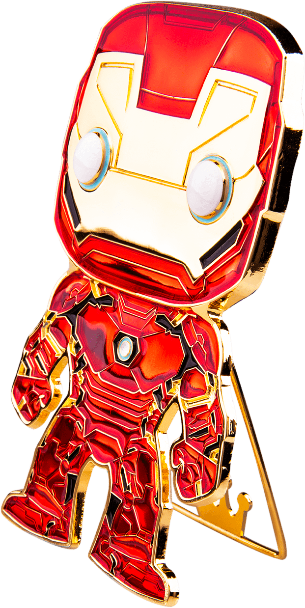 "Funko Pop! The Avengers - Iron Man 4"" Enamel Pin - The Amazing Collectables"