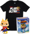 Funko - My Hero Academia - All Might Glow in the Dark - Vinyl Figure & T-Shirt Box Set - The Amazing Collectables