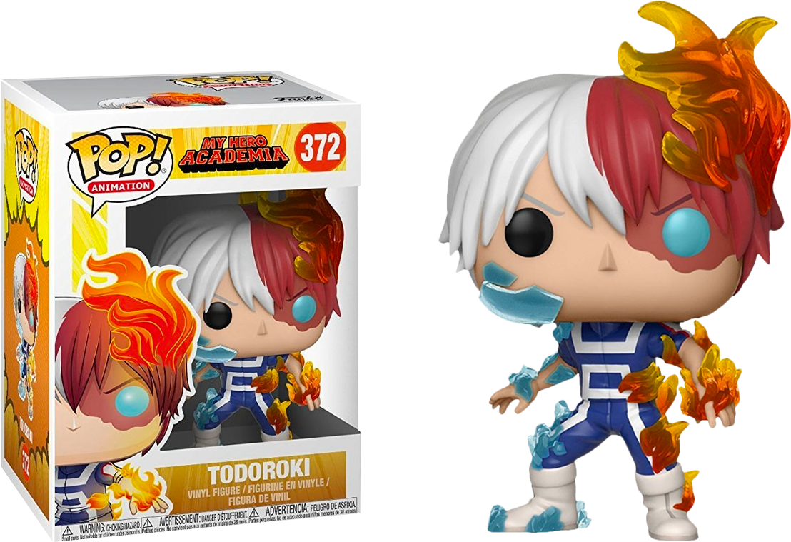 My Hero Academia Pop Funko deku Todoroki Vinyl Figure Animation n° 247
