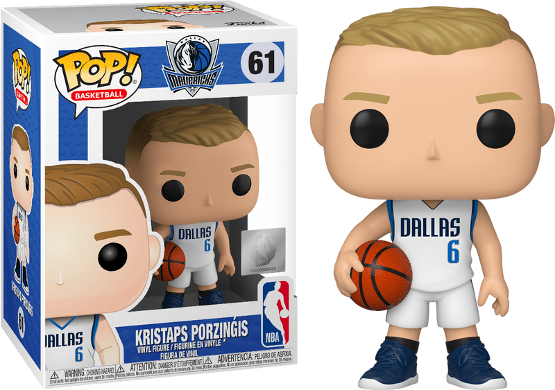 Funko Pop! NBA Basketball - Kristaps Porzingis Dallas Mavericks