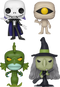 Funko Pop! The Nightmare Before Christmas - The Witch Is Back - Bundle (Set of 4) - The Amazing Collectables