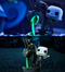 Funko Pop! The Nightmare Before Christmas - Jack Skellington on Fountain Glow in the Dark Movie Moments #602 - The Amazing Collectables