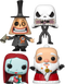 Funko Pop! The Nightmare Before Christmas - Sandy Claws Is Coming To Town - Bundle (Set of 4) - The Amazing Collectables