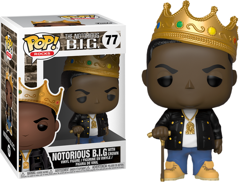 Funko Pop! Notorious B.I.G. - Notorious B.I.G. with Crown