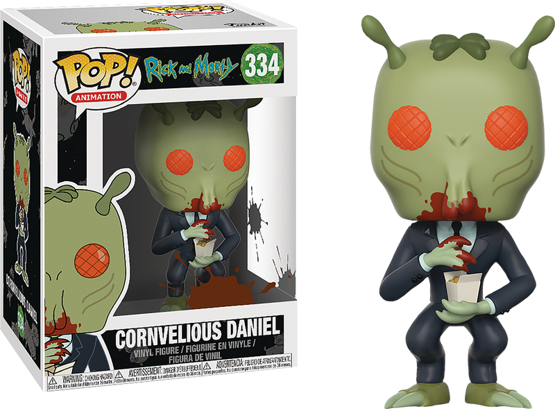 Funko Pop! Rick and Morty - Cornvelious Daniel