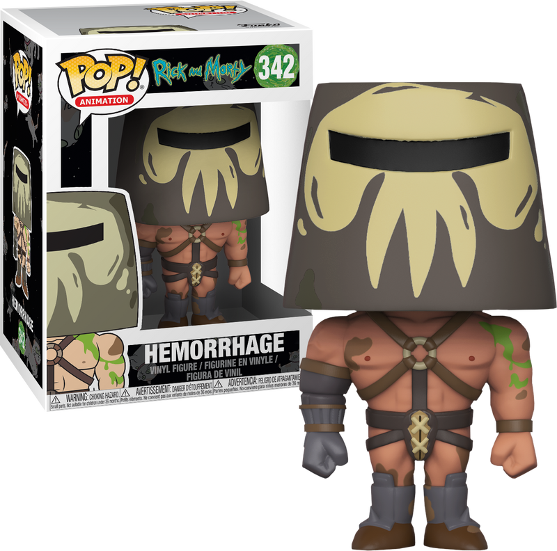 Funko Pop!  Rick and Morty - Hemorrhage