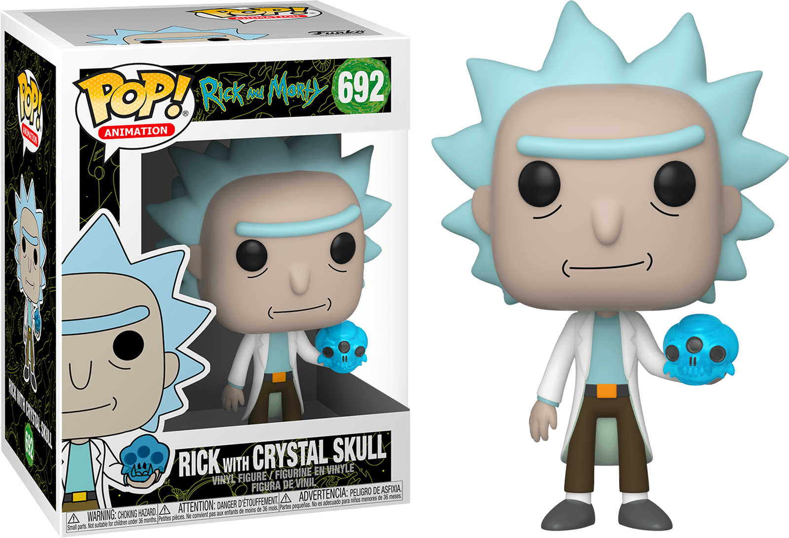 Funko Pop Rick And Morty Rick With Crystal Skull 692 The Amazing Collectables For those treasure demons with no weaknesses, use items and abilities that increase your critical hit chance, or, if you have the tower confidant, use down shot to knock them down. funko pop rick and morty rick with crystal skull 692