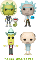 Funko Pop! Rick and Morty - Morty in Space Suit with Snake