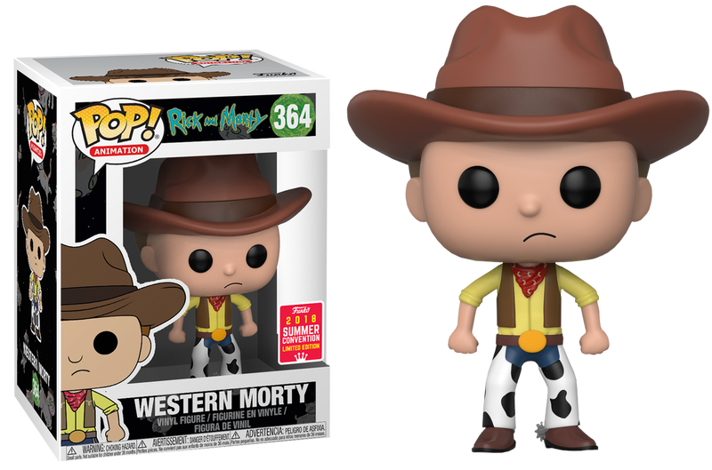 Funko Pop! Rick and Morty - Western Morty