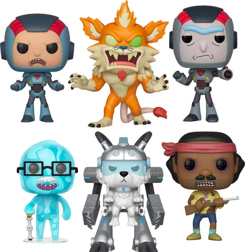 Funko Pop! Rick and Morty - Dr. Xenon Bloom