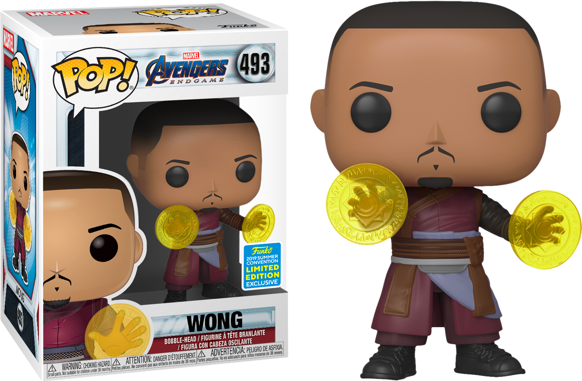 Funko Pop Avengers Endgame Wong 2019 SDCC Summer Convention Exclusive Limited Edition
