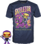 Funko - Masters of the Universe - Skeletor Glow in the Dark - Vinyl Figure & T-Shirt Box Set - The Amazing Collectables