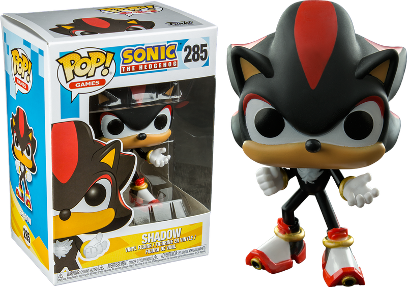 Funko Pop Sonic The Hedgehog Shadow 285 The Amazing Collectables