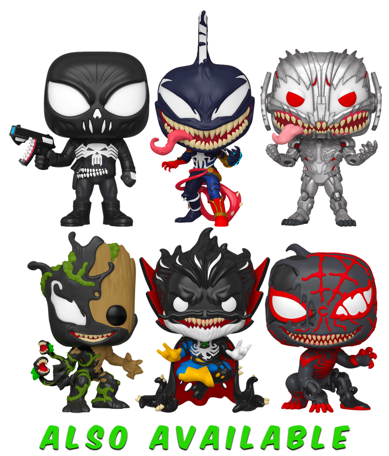 Maximum Venom-venomized Groot Vinyl Figure Movies Funko Pop Spider-Man