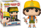 Funko - Stranger Things - Dustin with Roast Beef Tee #828 - Vinyl Figure & T-Shirt Box Set - The Amazing Collectables