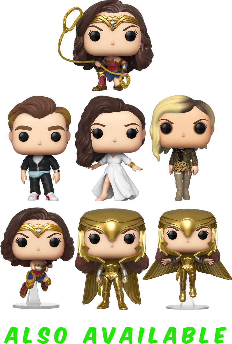 Funko Pop! Wonder Woman 1984 - Wonder Woman with Gold Shield