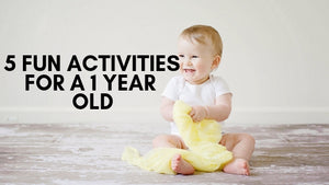 5 Fun Activities for a 1 year old