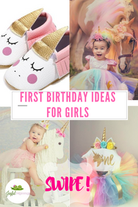 First Birthday Ideas For Girls! Unicorn Theme!