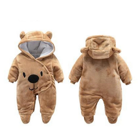 Honey Bear Romper 3-12M
