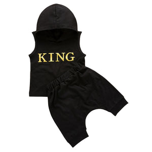 King Outfit Hoodie Set