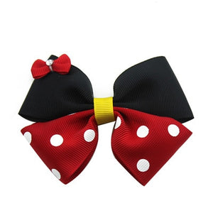 Mickey Mouse Mini Head Bow