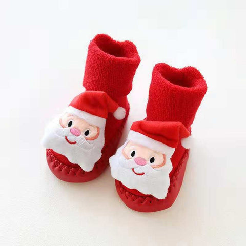 Baby Christmas Socks