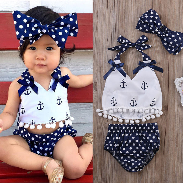 Sarah Louise Sailor Romper | 0-24M