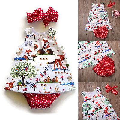 Woodland Friends Dress | 6-24M