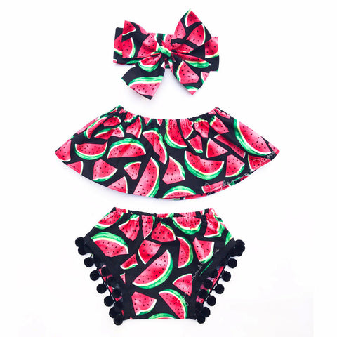 Watermelon Three Piece | 12-24M
