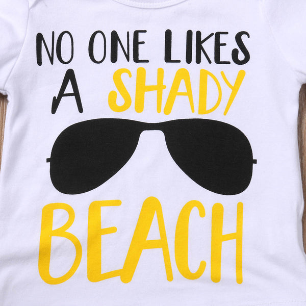 No One Likes A Shady Beach Short Set | 6-24M