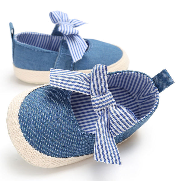 Analia Denim Bow | 0-18M