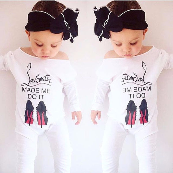 Louboutin Made Me Do It Onesie | 0-18M