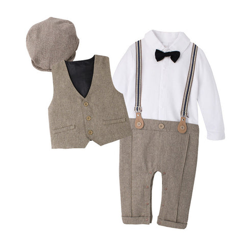 Wedding Outfits for Boys | Charles (khaki)