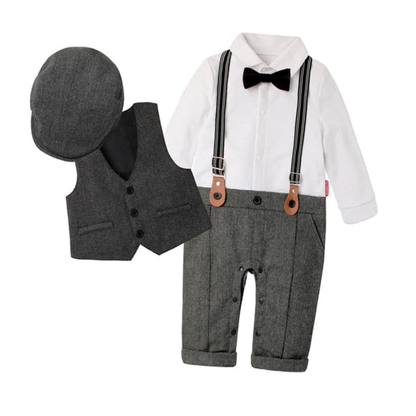 Wedding Outfits for Boys | Charles (Gray)