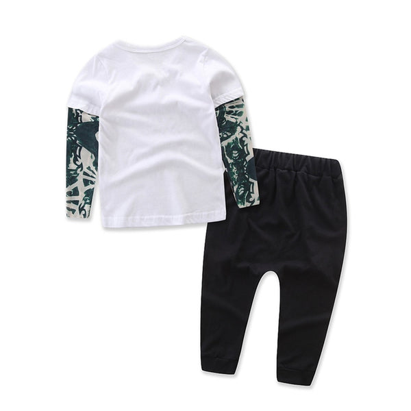 Thinking of a Master Plan Outfit Set | 6-24M