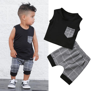Joaquin Short Set | 3-24M
