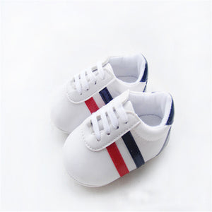Santiago blue and white kicks | 0-18M