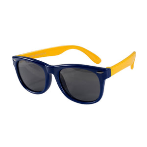 SOL Polarized Sunglasses Infant Sun Protection  | 0-2 Years | Navy and Yellow