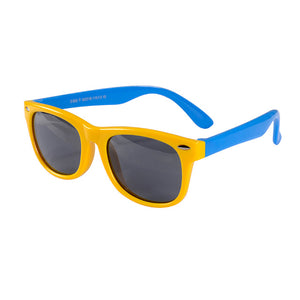 SOL Polarized Sunglasses Infant Sun Protection  | 0-2 Years | Yellow Frames