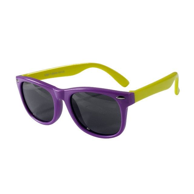 SOL Polarized Sunglasses Infant Sun Protection  | 0-2 Years | Purple