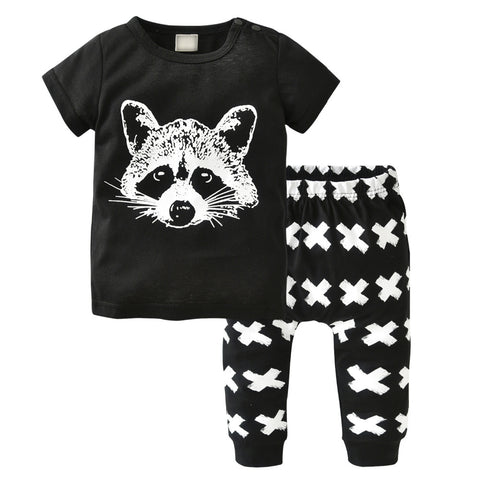 Rocket Racoon Outfit Set | 3-24M