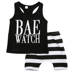 Bae Watch Short Set | 12M