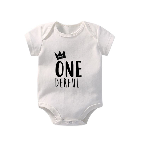 First Birthday | Mr. ONE Derful BodySuit