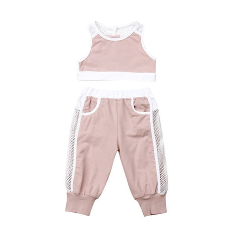 Baby Girl Tracksuit | 6-18M
