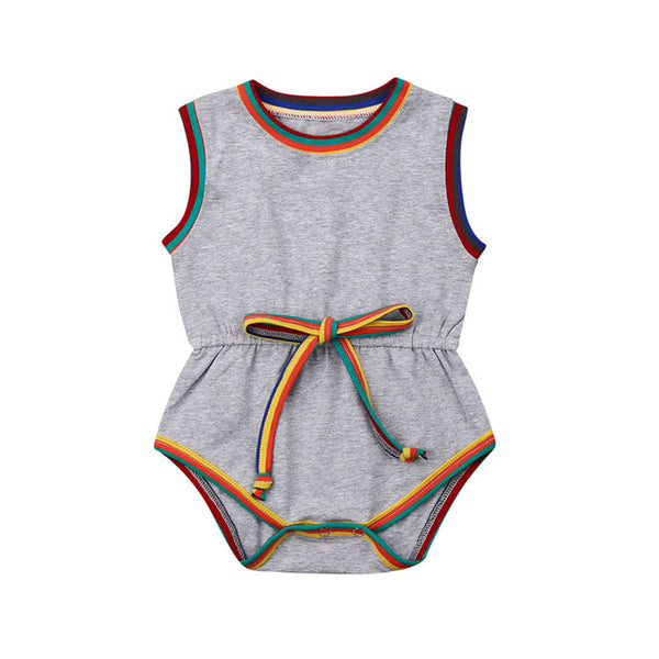 Harper Multi Color Romper
