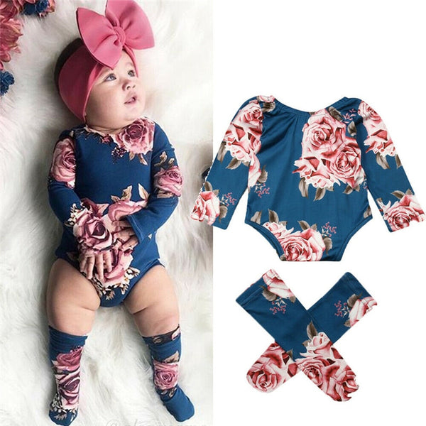 Ashley Floral Romper Set