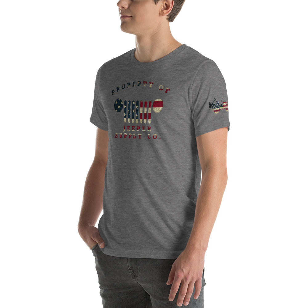 Jeeper Supply Co. Patriotic T
